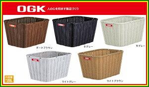 大型後用籐風バスケットカゴOGKRB-002