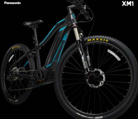 【送料無料(一部地域除く)!防犯登録無料!おまけ3点セット付き!】8Ahバッテリー搭載!【2017年モデル】パナソニック (Panasonic) XM1 (エックスエムワン) マウンテンバイク電動自転車 (BE-EXM40)