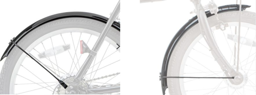 Panasonic (パナソニック) オフタイム (OffTime) 折りたたみ電動自転車専用 ロングドロヨケ (NDD5577S)
