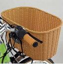 YAMAHA(ヤマハ)電動自転車 PAS VIENTA(ヴィエンタ)用 籐風ワイドバスケット + 専用取付ステー セット (P19)+(90793-55075)
