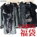 【限定1袋】【クーポン対象外】レディースのコート2着、ベストが入ったお得な福袋 女性 アウター コート 毛皮 ファー マルチカラー S f1z08