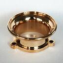 ZONオリジナル 真鍮 ブラス S&S Eキャブ用 ベロシティースタック ファンネル ハーレー バイクパーツ オリジナル 個性的 おしゃれ