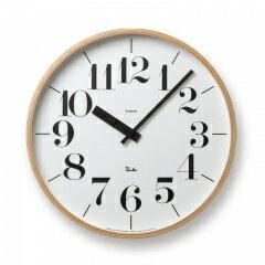 Lemnos RIKI CLOCK RC[電波時計]/ ナチュラル (WR08-27)