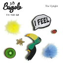 【再入荷】≪Bagolo≫ バゴロてんとう虫 鳥 星スター イエローファー ブルーファー キウ