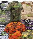 大きいサイズ 迷彩Tシャツ ロスコ Rothcoカモフラージュ XXXLサイズ tee 米軍仕様めいさい カモフラ0824楽天カード分割