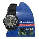 SWAT仕様 スミス&ウェッソン ミリタリー腕時計ロスコ S...