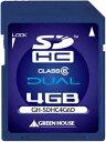 GREEN HOUSE GH-SDHC4G6Dの価格を調べる