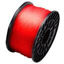 ムトーエンジニアリング PLA樹脂 フィラメント3.0mm PLA 透明赤 MAGIX-PLA-30RCL