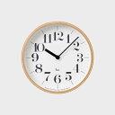(Lemnos(タカタレムノス)) Riki clock 壁掛時計 WR-0401(S) リキ クロック 掛け時計渡辺 力の画像