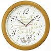 セイコー 掛け時計 リラックマ CQ220B