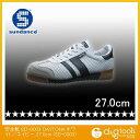 (サンダンス) 安全靴 SD-0003 DAYTONA ホワイト/ネイビー 27.0cm (SD-0003)の画像
