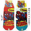 アメコミ『SPIDER-MAN/スパイダーマン コミック 』メンズソックス   (19レッド)の画像
