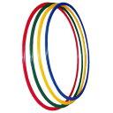 トーエイライト フラットフープ700(直径70cm) 4本1組(青・緑・赤・黄 各1本) B-6067