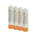 JTT ニッケル水素充電池 エネロング 単4*4本パック EL08D4P4の価格を調べる