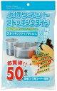水切りネットストッキングタイプ(排水口/三角コーナー兼用)お得用KT66 白 50枚