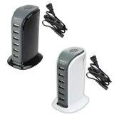 HEXA 6ポート usb充電器 デスクトップ USB-ACチャージャー