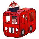室内用プレイテント 「消防車/Kid'sテント」の画像