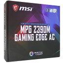 MSI エムエスアイコンピュータジャパン MPG Z390M GAMING EDGE AC