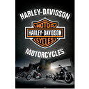 ポスターHarley Davidson (Leather)