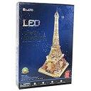 3D立体クラフトパズル 最上級 エッフェル塔 LEDスペシャル・エディション L199h