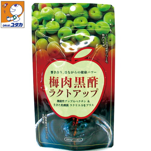 梅肉黒酢ラクトアップ 120粒