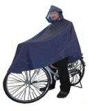 自転車専用かっぱ ひったくり防止にも!【これは便利!】 レインコート