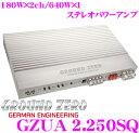 GROUND ZERO グランドゼロ GZUA 2.250SQ 180W×2chパワーアンプ