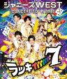ジャニーズWEST CONCERT TOUR 2016 ラッキィィィィィィィ7/Blu-ray Disc/JEXN-0069