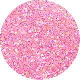 ピカエース#444 ラメ・パステルレインボーS ピンク