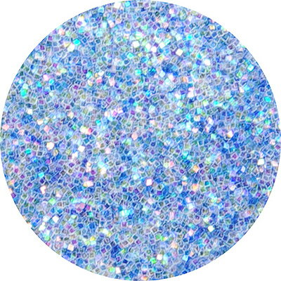 ピカエース#447 ラメ・パステルレインボーS ブルー
