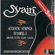 S.Yairi(ヤイリ) アコースティックギター弦  パックextra light gauge(0.11?0.50) SY-1000XL-3(3PACK)