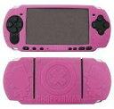 チョッパーマン PSP-300シリーズ専用 シリコンカバー ピンク ON-46A グルマンディーズの画像