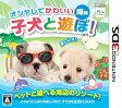 オシャレでかわいい 子犬と遊ぼ!-海編- 3DS