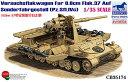 1/35 独フラックワーゲンIVc型8.8cmFlak37搭載高射自走砲 プラモデル ブロンコモデル