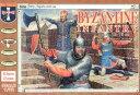 1/72 ビザンチン歩兵12-15世紀 42体 プラモデル ソフトプラ 再販 オリオン