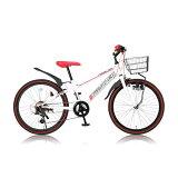 Raychell/レイチェル CTB-246R 子供用自転車 ホワイト