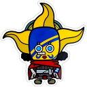 ワンピース×パンソンワークス《そげキング》Bigステッカー☆アニメキャラクターグッズ通販☆/シネマコレクション