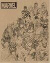マーベルコミック/MARVEL COMICS《Rough Heroes》ミニポスターの画像