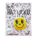 OilshockDesigns/HARAJUKU GIRL(Smile)25mm缶バッジ サブカルファッション