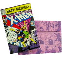 MARVEL COMICS《エックスメン/Birthday(お誕生日お祝い)》グリーティングカードアメコミ【MARVELCorner】の画像