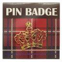 アクティブPin Badge-Gold Crown TR-085 TR085