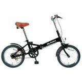 MYPALLAS マイパラス M-101 折畳自転車16 ブラック(BK)