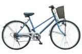 MY PALLAS マイパラス シティサイクル 26インチ・6SP ブルー M-501-BL