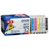 エプソン インクカートリッジ 6色パック IC6CL32