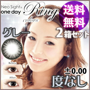 Neo Sight one day Ring Colors グレー