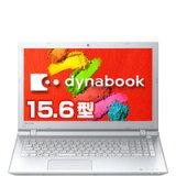 東芝直販 dynabook AZ15/TW(PAZ15TW-SNA)(Windows 10/Officeなし/15.6型 HD/Celeron 3215U/DVDスーパーマルチ/500GB HDD/ホワイト)