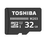 TOSHIBA 東芝 EXCERIA microSDHCカード CLASS10 UHS-I対応 R:48MB/s 海外リテール SD-C032GR7AR048ACHR