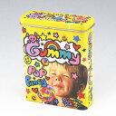 【85ミリ20本用】キャンディーグミ柄 シガレットケース ブリキ缶 キャンディー缶