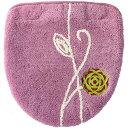 エトフ 洗浄・暖房用フタカバー ピンク