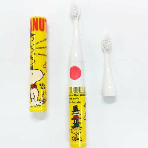 (スヌーピー)CHARASH 音波式電動歯ブラシ